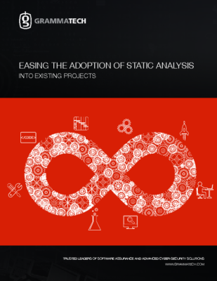 Easing Adoption of Static Analysis into Existing Projects