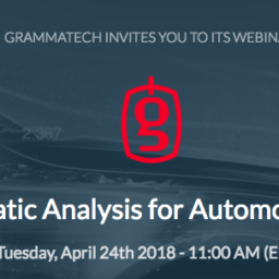 Static Analysis for Automotive